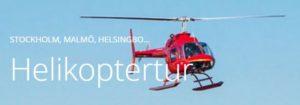 helikoptertur stockholm