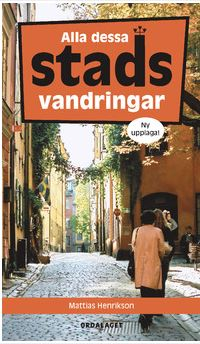 Bok om stadsvandringar i Stockholm