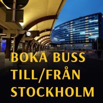 boka buss stockholm
