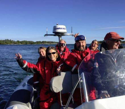 rib båt stockholm