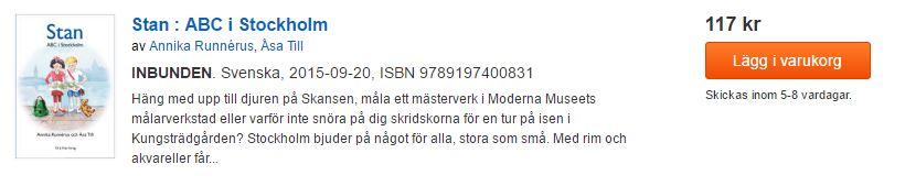 stockholm abc bok