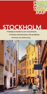 Stadskarta över Stockholm