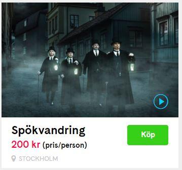 spökvandringar stockholm