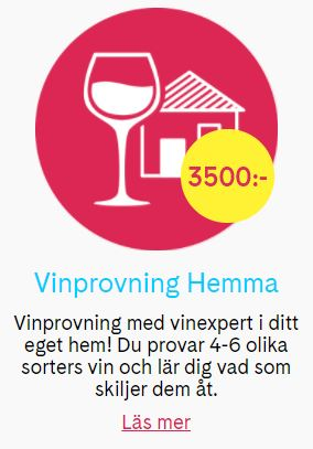 Boka vinprovning i hemmet