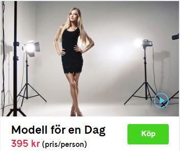 modell för en dag pris