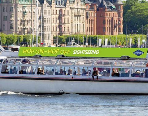 hop on hop off sightseeing stockholm