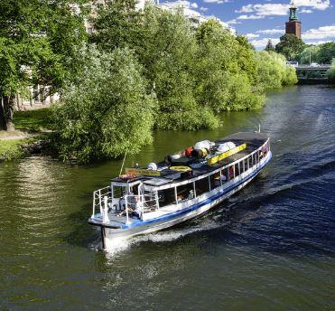 kanalkryssning historisk