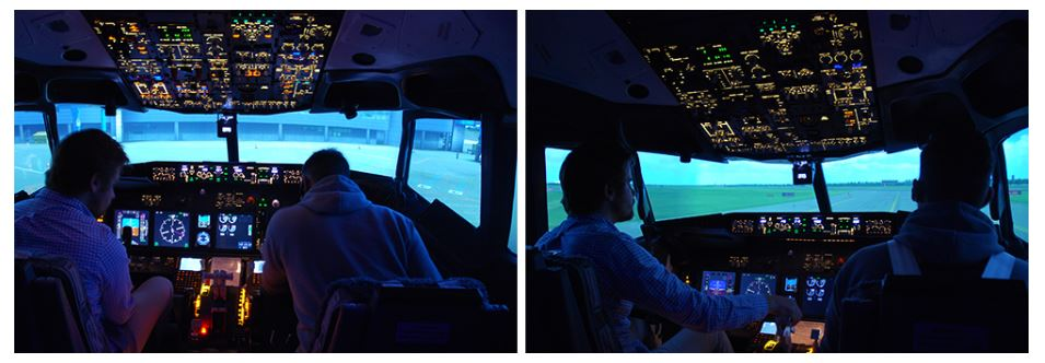 flyg simulator