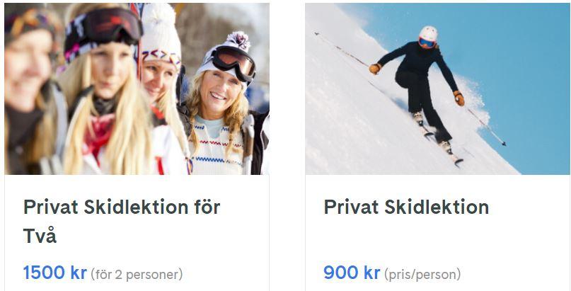 skidlektion i stockholm
